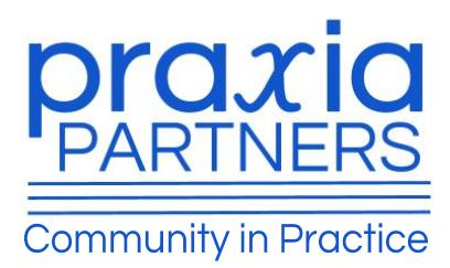 Praxia Partner's: Community in Practice