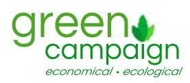 Your customized Green Campaign