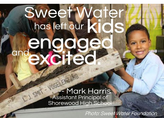 Sweet Water has left our kids engaged and excited
