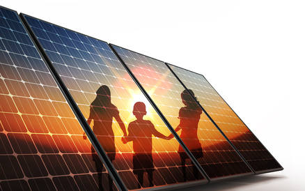 Community-owned solar power with Community Renewable Energy